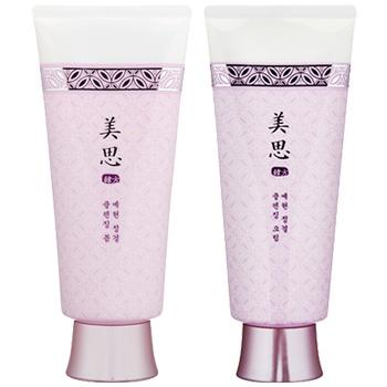 お得!美思 エイヒョン 眞本 洗顔フォーム/クレンジングクリームのセット