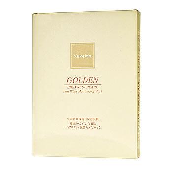 ユケイドー 極品ゴールド ツバメ真珠 ホワイトニング&保湿 パック 30g×5枚のイメージ画像