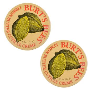 バーツビーズ レモン バター キューティクル クリーム 17g×2個