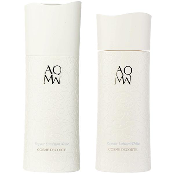 コーセー コスメデコルテ 選べる2個:AQMW リペア エマルジョン/ローション ホワイト