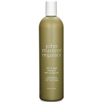 ジョンマスターオーガニック ジン&セージコンディショニング シャンプー(トラブルのある頭皮用) <スリムビッグボトル> 473ml
