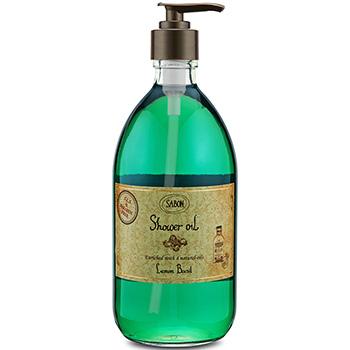 サボン シャワーオイル レモンバジル 500ml