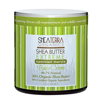 シアテラオーガニックス シアバター 30% エクストリームクリーム ナミビアンマルラ 236ml