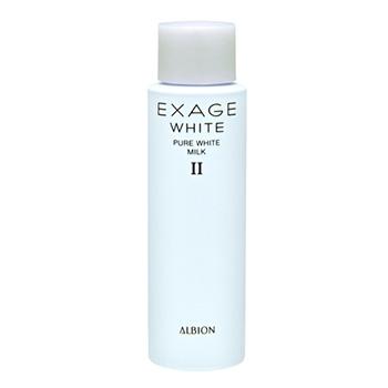 アルビオン 【ミニサイズ】エクサージュホワイト ピュアホワイト ミルク II 30g