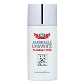 UV&WHITEモイスチャーミルク50+ 60ml