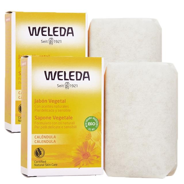 ヴェレダ カレンドラソープ 100g×2個セット